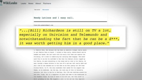 exp Bill Richardson on Podesta Remarks_00002001