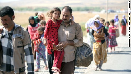ISIS has carried out brutal rights violations against the Yazidi community in Iraq