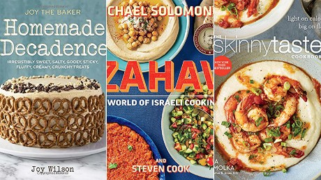 Cookery books montage tease image