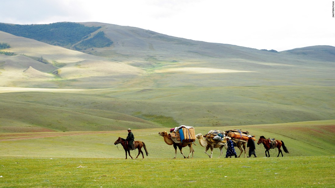Few landscapes remind visitors how small they really are like the vast steppes of central Mongolia. With just 3 million residents in an area more than twice the size of Texas, you'll have plenty of space to yourself. Riding on the back of a camel or horse is an efficient way to explore -- far from the cacophony of election coverage.
