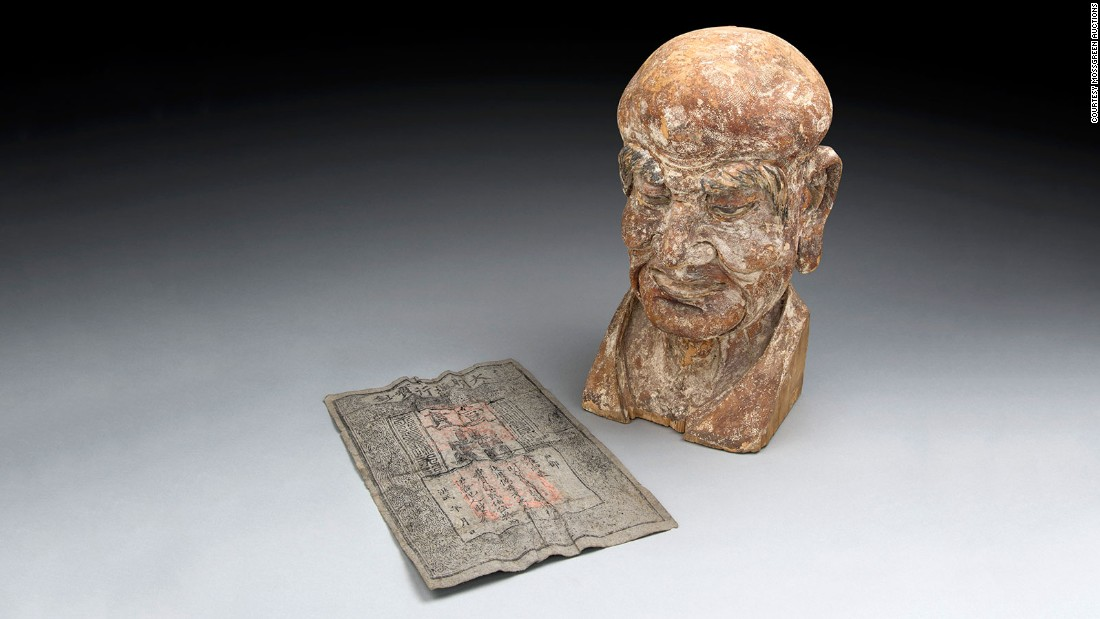 700-year-old Banknote Found Inside Antique Sculpture