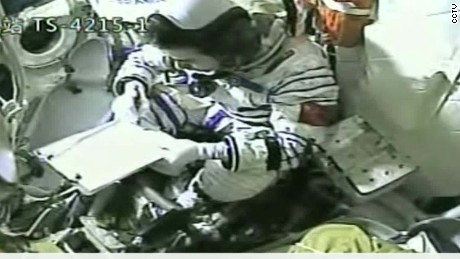 china's longest manned space mission launches