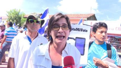 cnnee pkg samantha lugo marchas encontra de las elecciones nicaragua_00003512