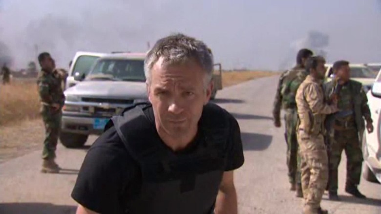 Nick Paton Walsh Mosul ISIS gunfire orig_00004713