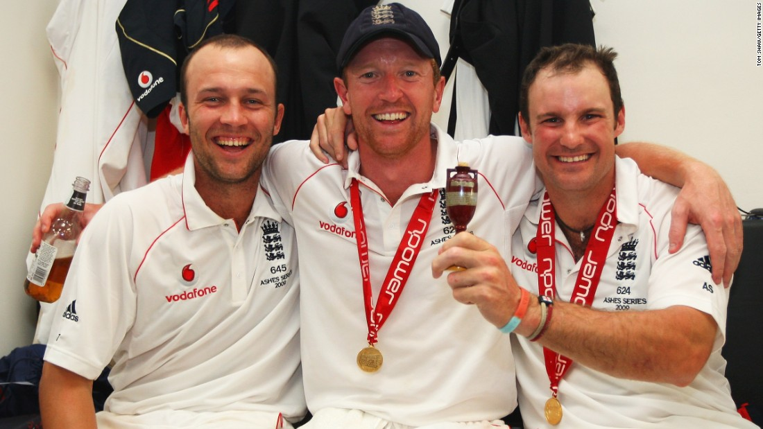 Trott's anxiety began when he was one of England's star players and arguably at the top of his game. On his debut in 2009, he scored a hundred to help England beat Australia in an Ashes series -- one of the fiercest rivalries in the game of cricket.