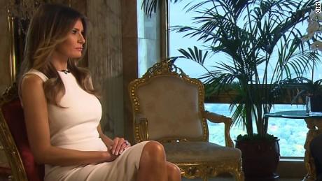 Melania Trump AC far