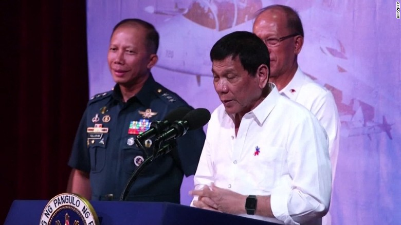 Phillippine President: 'America has lost'