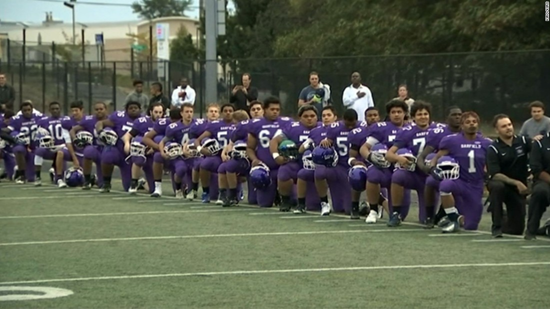 """The Obama era has seen the rise of a """"dangerous"""" patriotism. It's dangerous because it takes risks, such as when the entire Garfield High School football team, along with half a dozen players from the West Seattle High School football team, knelt during the national anthem before a game.<br />"""