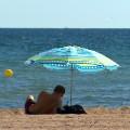 porto cristo beach umbrella