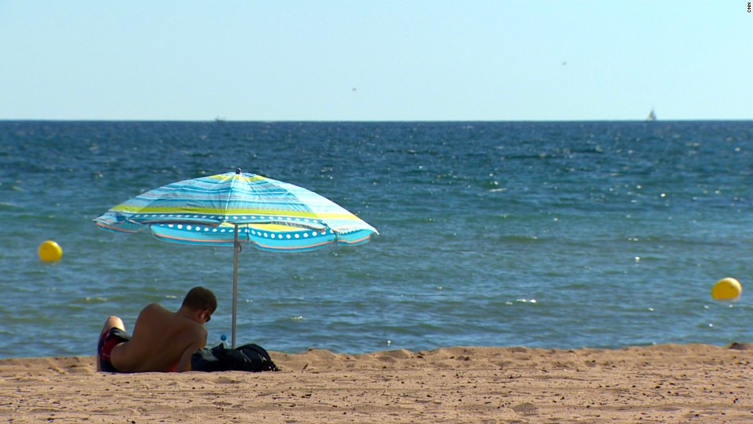Its beaches are quieter than tourist meccas such as Palma and Magaluf on the other side of the island.