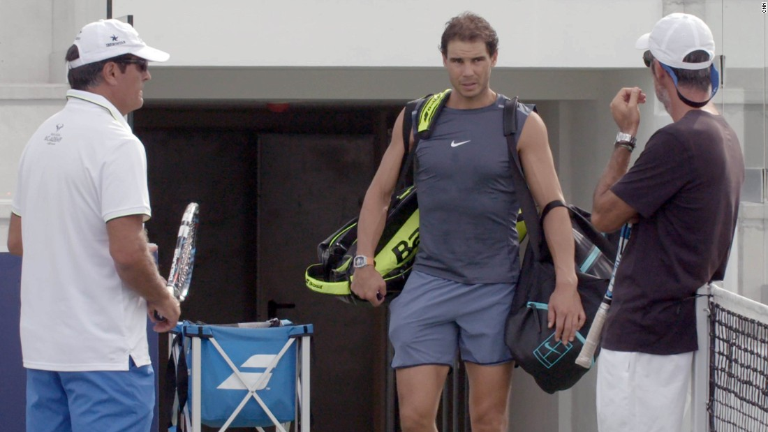 However, off the court Nadal is bringing one of his long-term goals into fruition.
