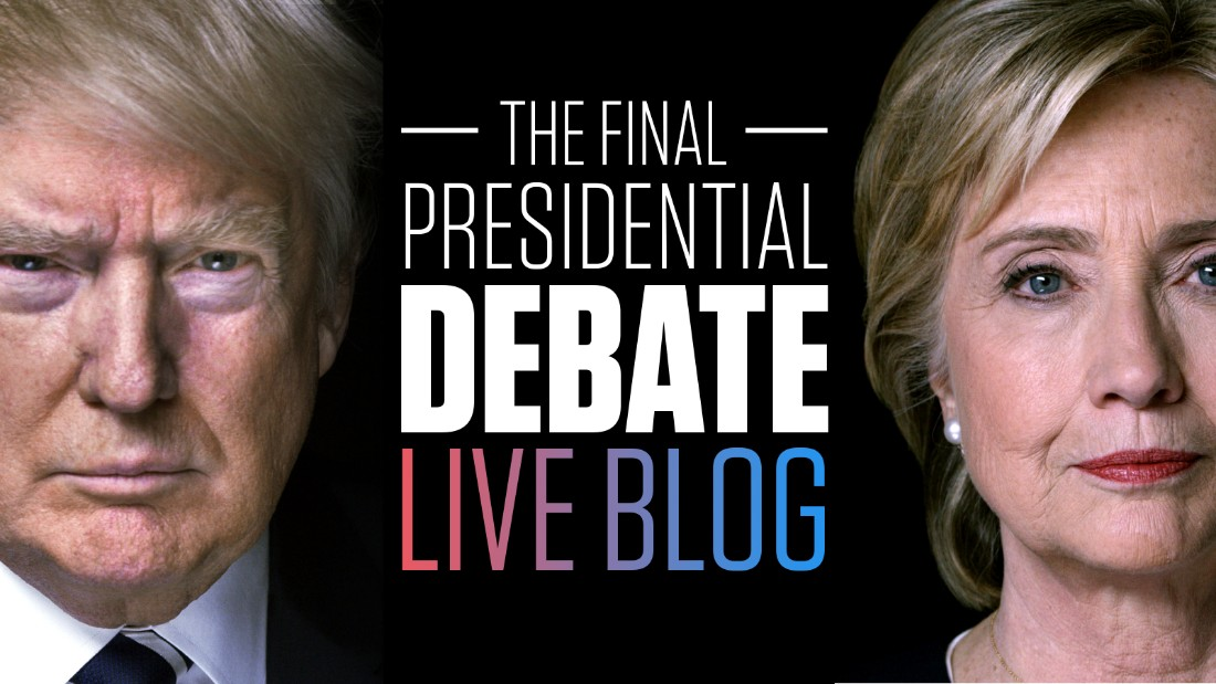 an analysis of the october 9 presidential debate between donald trump and hilary clinton Hillary clinton and donald trump went head to head in nevada for  follow live updates from the third and final presidential debate between hillary clinton and.