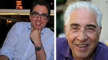 Siamak Namazi, left, was arrested nearly a year ago. His father, Siamak Namazi, was detained in February.