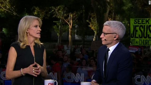 Afbeelding bij Conway: Clinton 'the 46% gal'