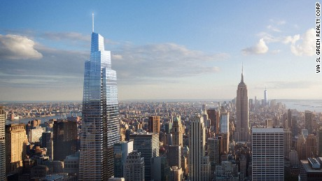 A new tall tower has broken ground in New York City. Named the One Vanderbilt Avenue tower, the building is designed by John Pederson Fox architects, and construction officially started today. At 1,401 feet tall, upon completion it will be the second tallest building in New York after the One World Trade Center.
