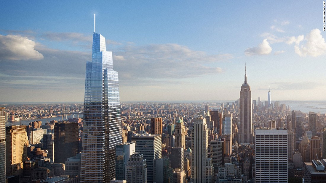 A new tall tower has broken ground in New York City. Named the One Vanderbilt Avenue tower, the building is designed by Kohn Pedersen Fox architects, and construction officially started today. At 1,401 feet tall, upon completion it will be the second tallest building in New York after the One World Trade Center.<br /> <strong><br />Height: </strong>427m (1,401ft) <strong><br />Architect: Kohn Pedersen Fox</strong>