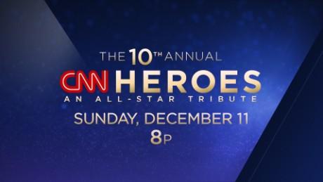 CNN Heroes: An All-Star Tribute -  Sun., Dec.11 at 8p ET/ 5p PT
