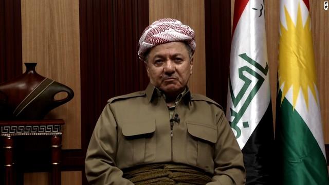Afbeelding bij Iraqi Kurdish leader on Mosul, cooperation with Baghdad