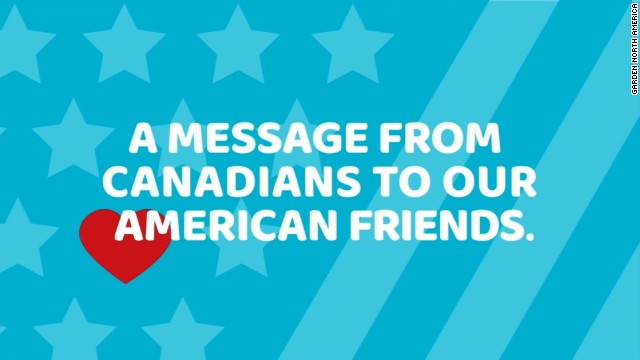 Afbeelding bij You're already great, Canada tells America