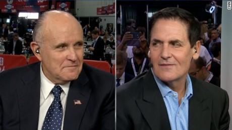 Rudy Giuliani vs. Mark Cuban