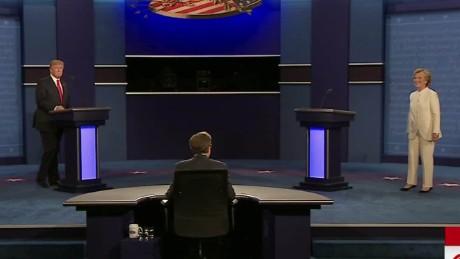 third presidential debate trump clinton no handshake sot 01_00000226.jpg