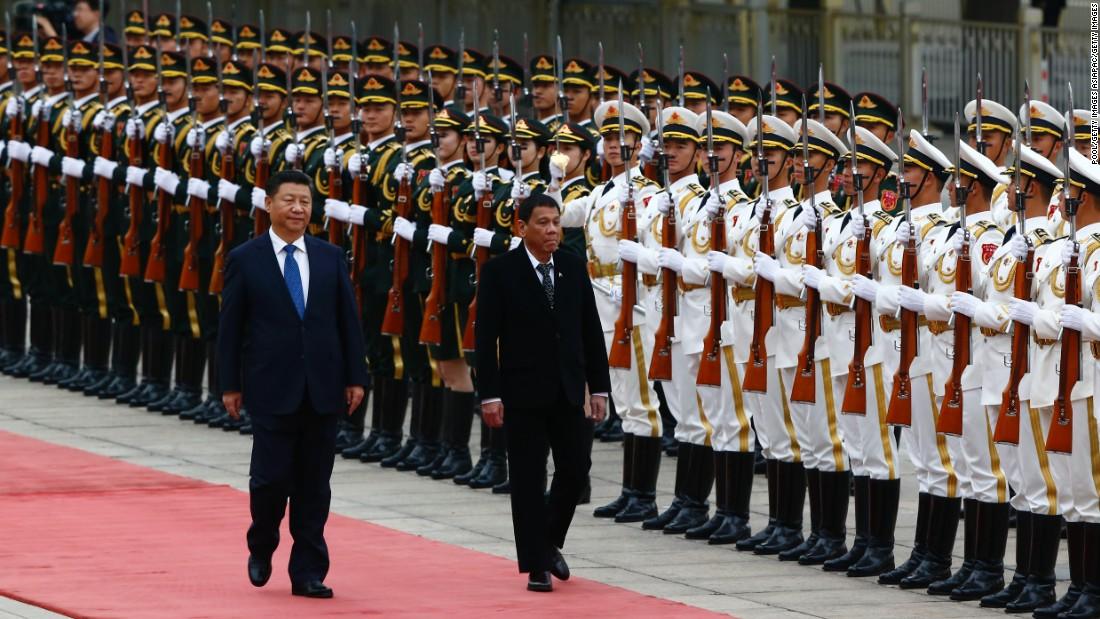 Rodrigo Duterte flummoxes US with call for 'separation'