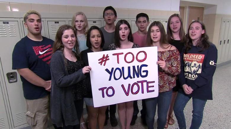 East Texas school votes in mock presidential election