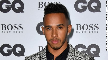 LONDON, ENGLAND - SEPTEMBER 06:  Lewis Hamilton arrives for GQ Men Of The Year Awards 2016 at Tate Modern on September 6, 2016 in London, England.  (Photo by Gareth Cattermole/Getty Images)