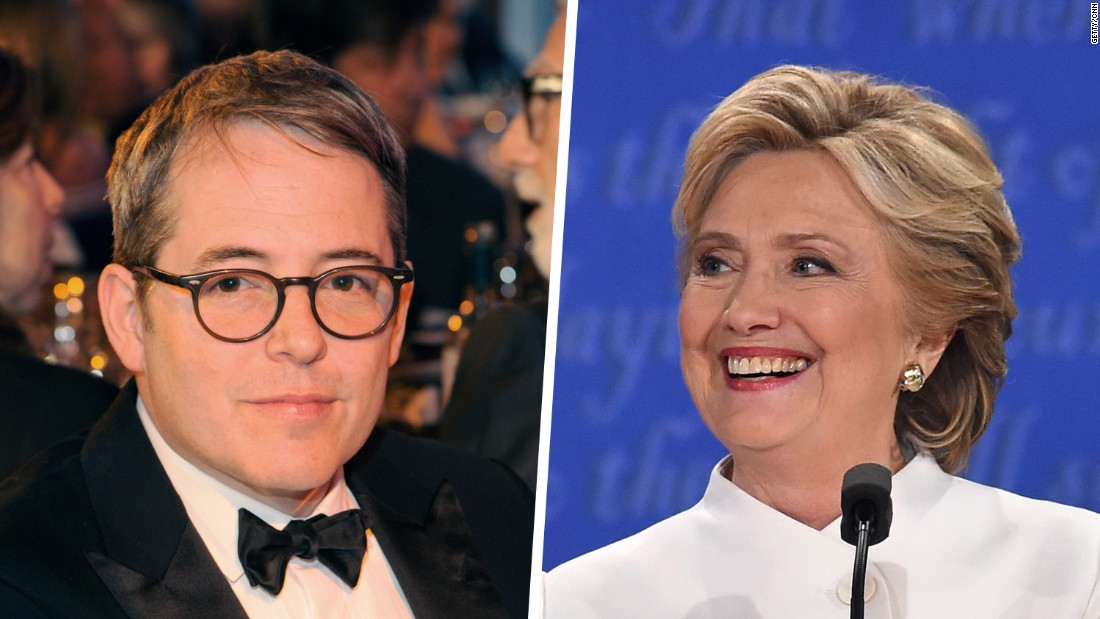 Matthew Broderick Is With Her, And Her