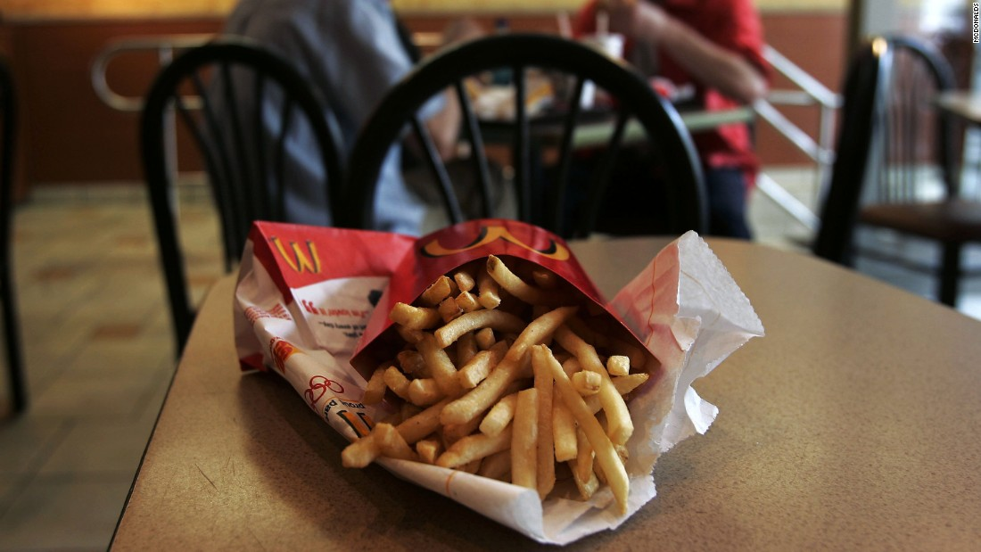McDonald's is hotter than an order of fries