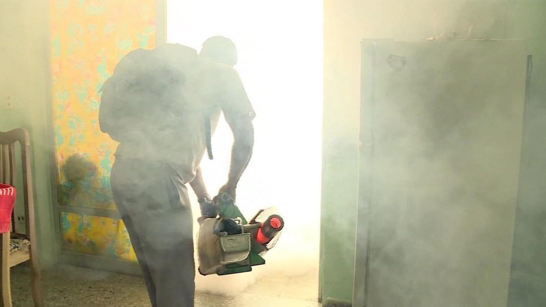 Cuba's Zika battle