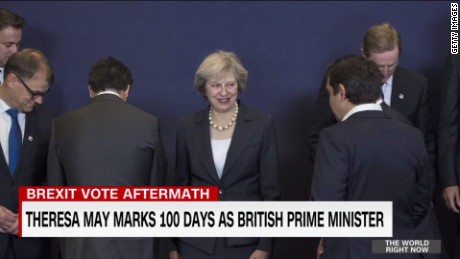 theresa may marks 100 days as british prime minister pkg foster_00005610.jpg