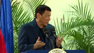 Philippine President Duterte: My favorite hero is Putin