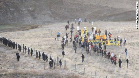 83 protestors have been arrested Saturday at a protest of the Dakota Access Pipeline construction, according to the Morton County Sheriffs Department.