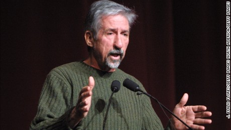 "401095 07: Former U.S. Senator Tom Hayden (D-CA) speaks at a political conference called, ""Our democracy after 9/11: can we save it?"" February 17, 2002 in Los Angeles, CA. The conference focused on the alleged lack of democracy in the U.S. after the terrorist attacks. (Photo by J. Emilio Flores/Getty Images)"