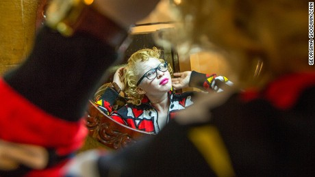 """The world's first ever Mr and Miss Albinism held in Nairobi on 21 Oct 2016. Organised by the Albinism Society of Kenya (ASK) in an effort to fight the stigma associated with albinism under the banner """"Beauty Beyond The Skin"""" was held at the Carnivore grounds with Deputy President William Ruto as the chief guest. Money raised through the event will go to support other existing programs including cancer treatment, counselling and be used for the provision of sunscreen lotion which helps in prevention of skin cancer. Assignment for CNN."""