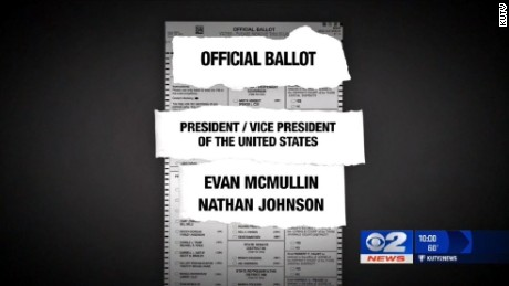 McMullin's VP on UT ballot is not his actual running mate