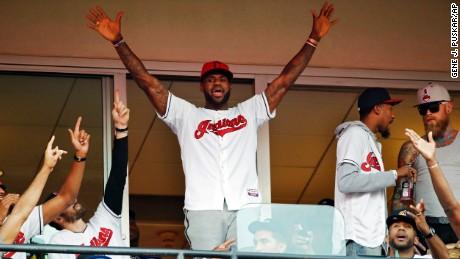 LeBron James explains his Indians fandom