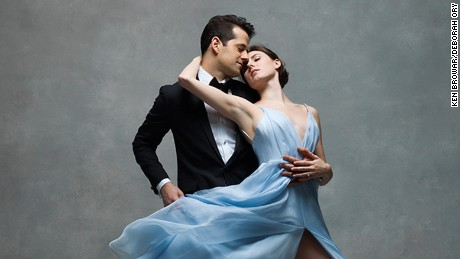 Tiler Peck and Robert Fairchild, Principals, New York City Ballet