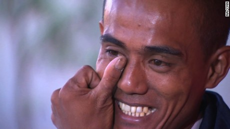 Arnel Balbero was one of 26 Asian hostages freed after nearly five years held in captivity by Somali pirates.