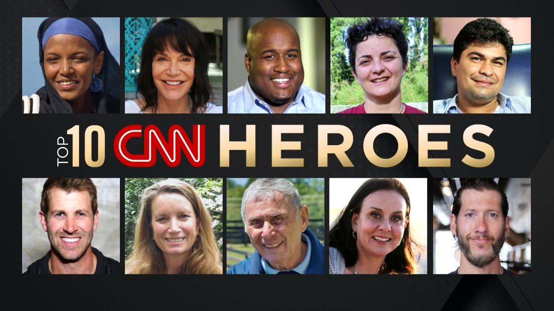Meet the top 10 CNN Heroes of 2016