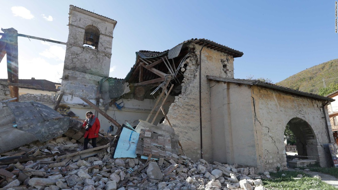 Italy earthquake: 6.6-magnitude tremor rocks nation's center - CNN ...