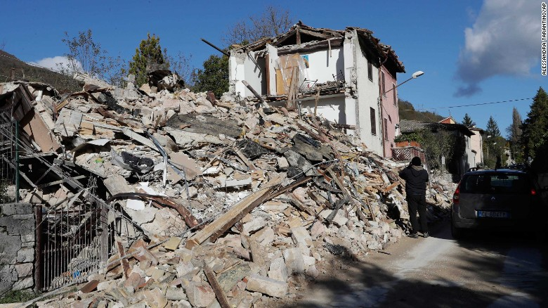 Italy earthquakes  Mor...