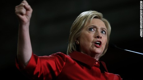 HOUSTON, TX - FEBRUARY 20:  Democratic presidential candidate, former Secretary of State Hillary Clinton speaks during a campaign rally at Texas Southern university on February 20, 2016 in Houston, Texas. Clinton held a campaign rally in Texas hours after defeating Democratic rival Sen Bernie Sanders (I-VT) in the Nevada Democratic caucuses.  (Photo by Justin Sullivan/Getty Images)