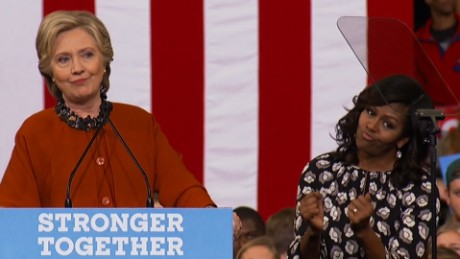 Hillary Clinton praises Michelle Obama rally_00000000.jpg