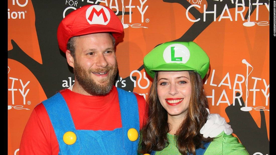 These Celebrities Go Big On Halloween Costumes