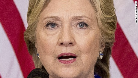 Democratic presidential candidate Hillary Clinton speaks at a news conference at Theodore Roosevelt High School in Des Moines, Iowa, Friday, Oct. 28, 2016. The FBI dropped what amounts to a political bomb on the Clinton campaign on Friday when it announced it was investigating whether new emails involving the Democratic presidential nominee contain classified information. (AP Photo/Andrew Harnik)