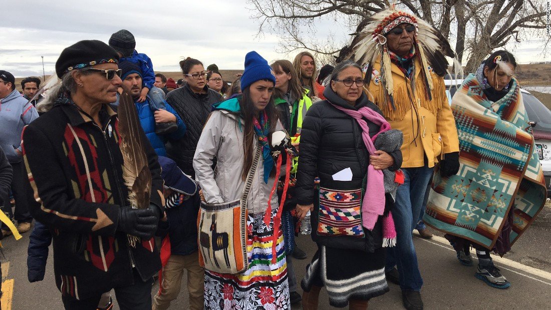 Why Your FB Friends Are Checking In At Standing Rock