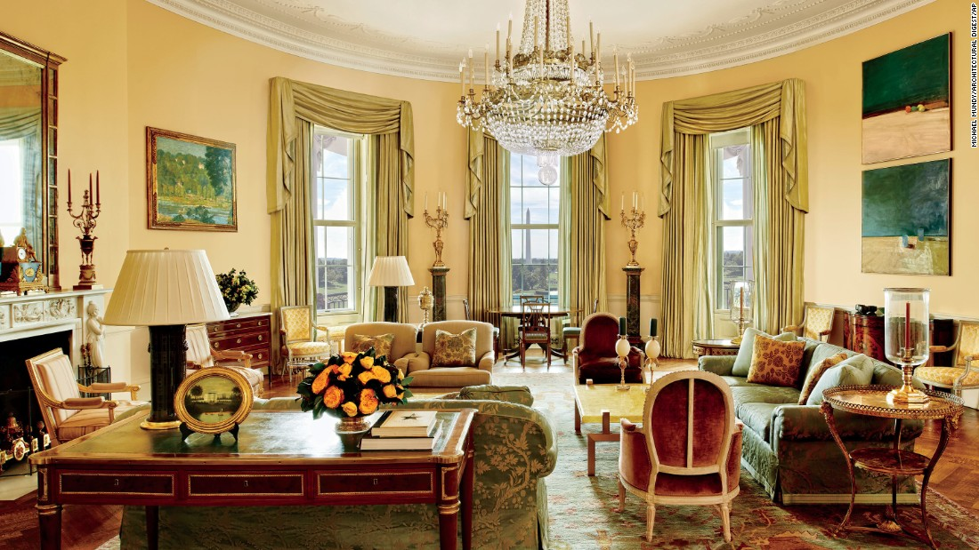 Look Inside The Obamas 39 Private Living Quarters