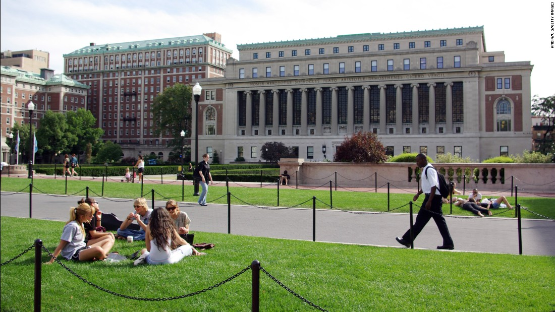 Columbia University accidentally accepts, then rejects students